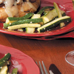 Sauteed Zucchini Strips image