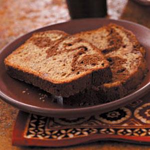 Chocolate Ribbon Banana Loaf image