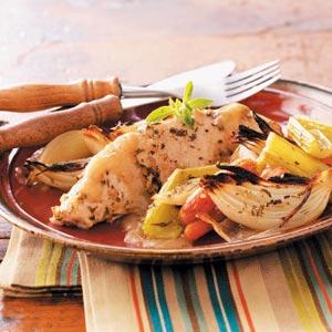 Roasted Turkey Breast Tenderloins & Vegetables image