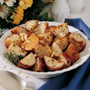 Roasted New Potatoes_image