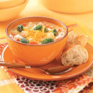 Cheesy Vegetable Chowder image