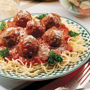 Easy Spaghetti and Meatballs image