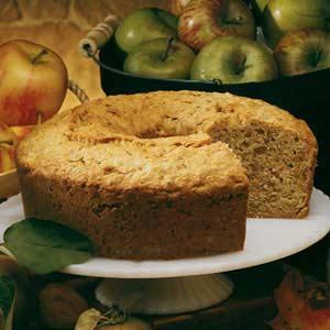 Old-Fashioned Apple Walnut Cake image