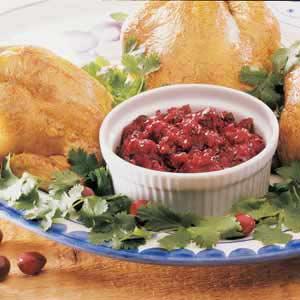 Cranberry Salsa image