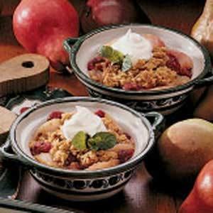Pear Cranberry Crisp image