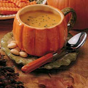 Curried Pumpkin Soup image