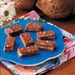 Chocolate Coconut Bars image