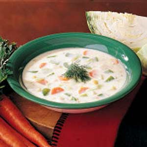 Cream of Cabbage Soup image