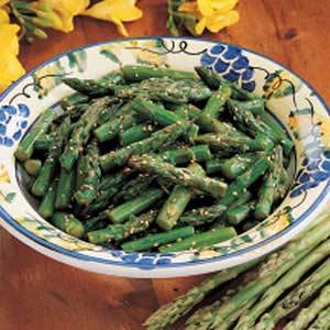 Asian Asparagus Salad image