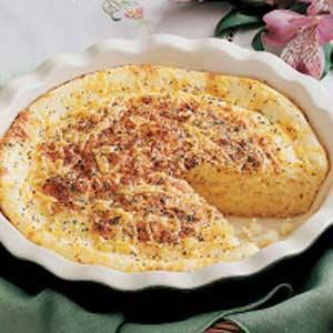 Onion Cheese Custard Bread