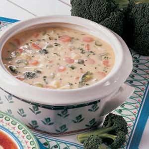 Garden Vegetable Chowder image