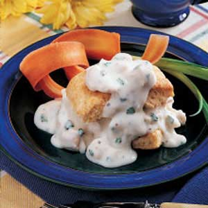Creamed Chicken 'n' Biscuits image