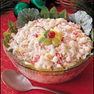 Christmas Fruit Salad image