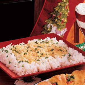 Parmesan Buttered Rice image