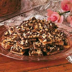 Soda Cracker Chocolate Candy_image