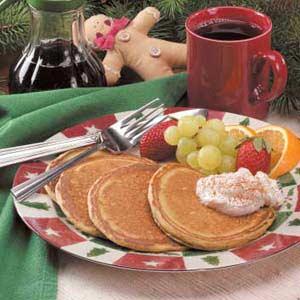 Gingerbread Pancakes image