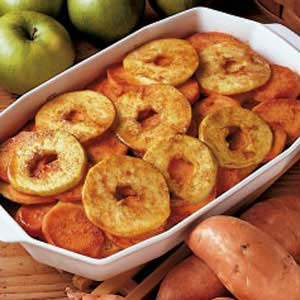Sweet Potatoes with Apples
