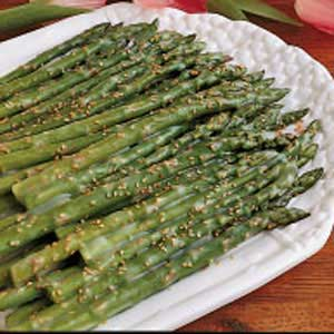 Asparagus with Sesame Butter image
