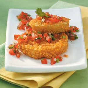 Contest-Winning Fried Green Tomatoes image