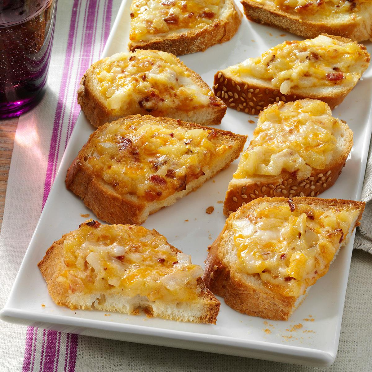 Almond cheddar appetizers recipe taste of home forumfinder Gallery