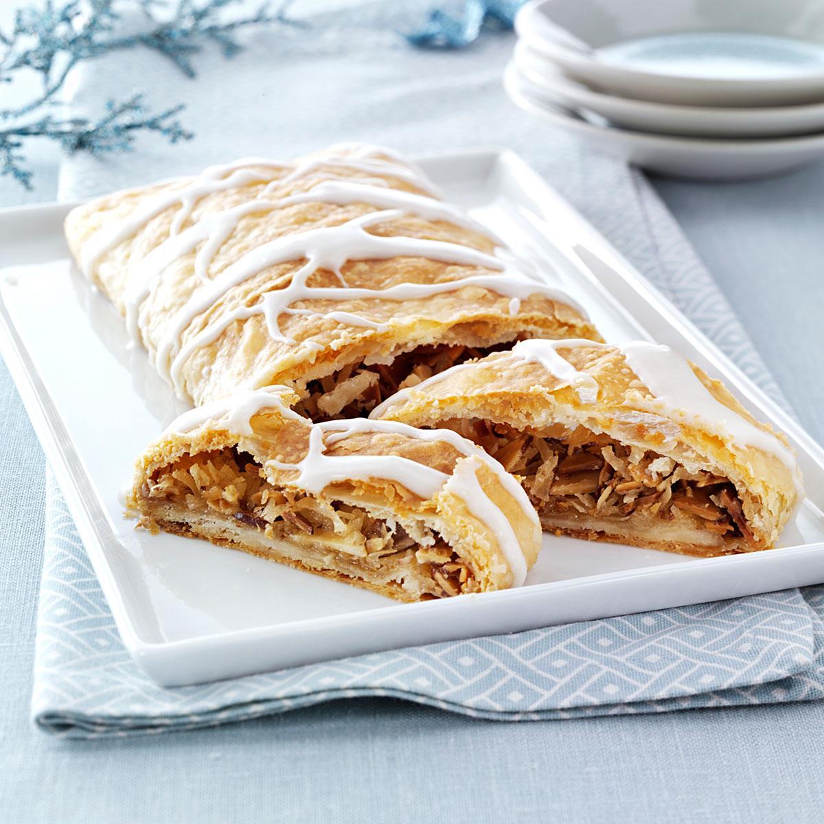 Kringles For Christmas.Almond Coconut Kringles