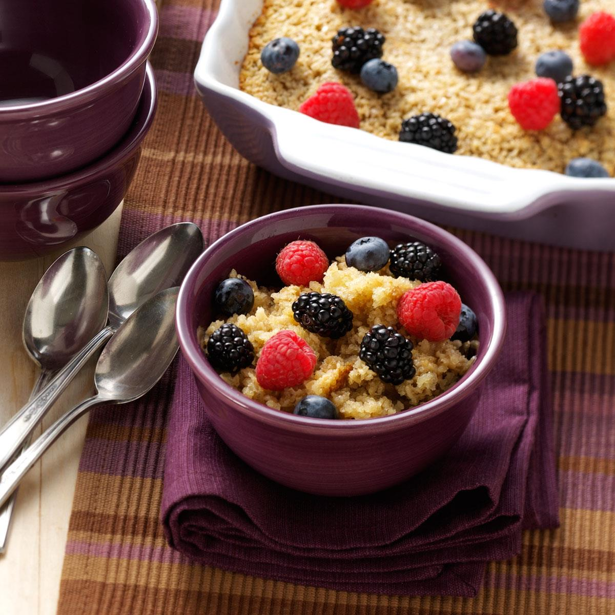 Amish baked oatmeal taste of home ccuart Images