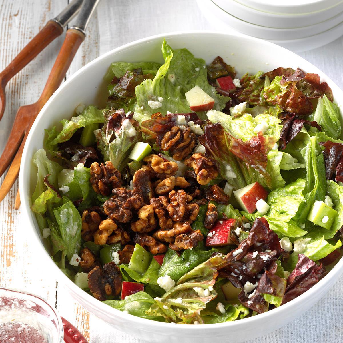 Apple-Feta Tossed Salad Recipe   Taste of Home