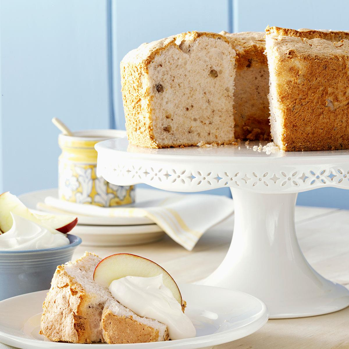 Apple spice angel food cake recipe taste of home forumfinder Image collections