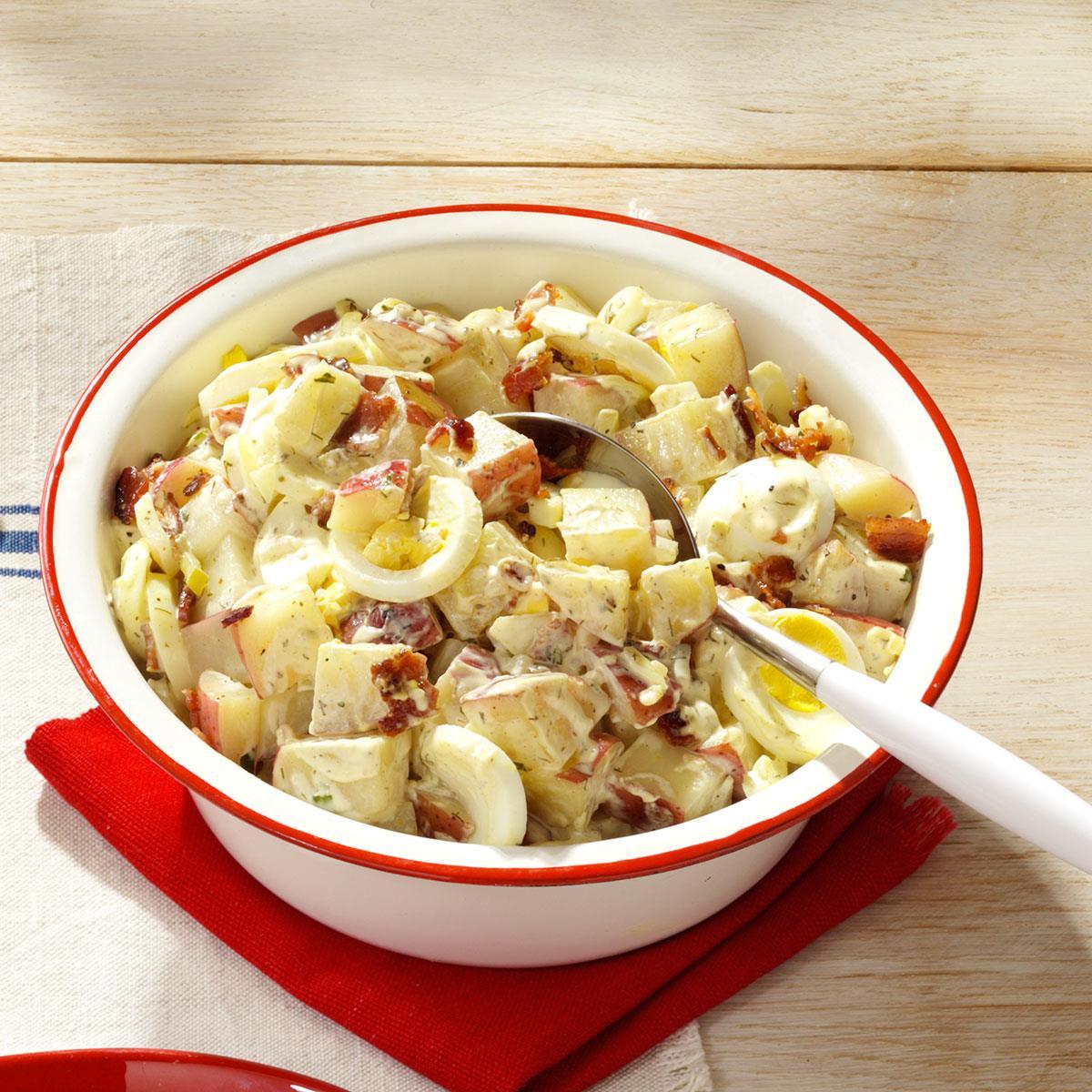 Bacon Egg Potato Salad Recipe Taste Of Home