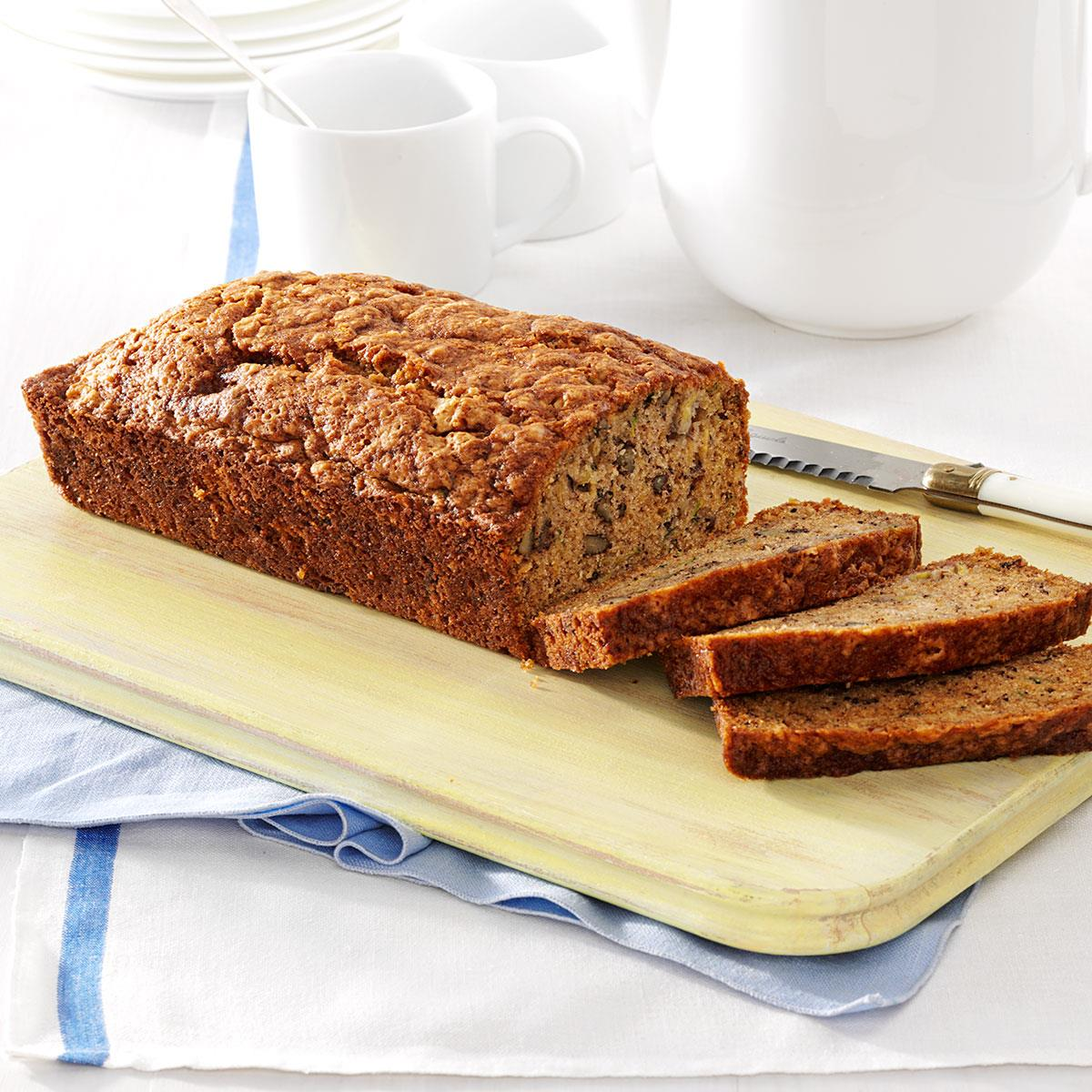 Banana zucchini bread taste of home forumfinder Choice Image