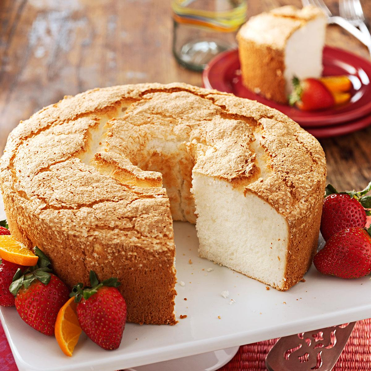 Best angel food cake taste of home forumfinder Images