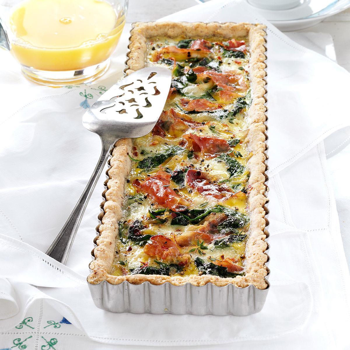 Brie and prosciutto tart recipe taste of home forumfinder Choice Image