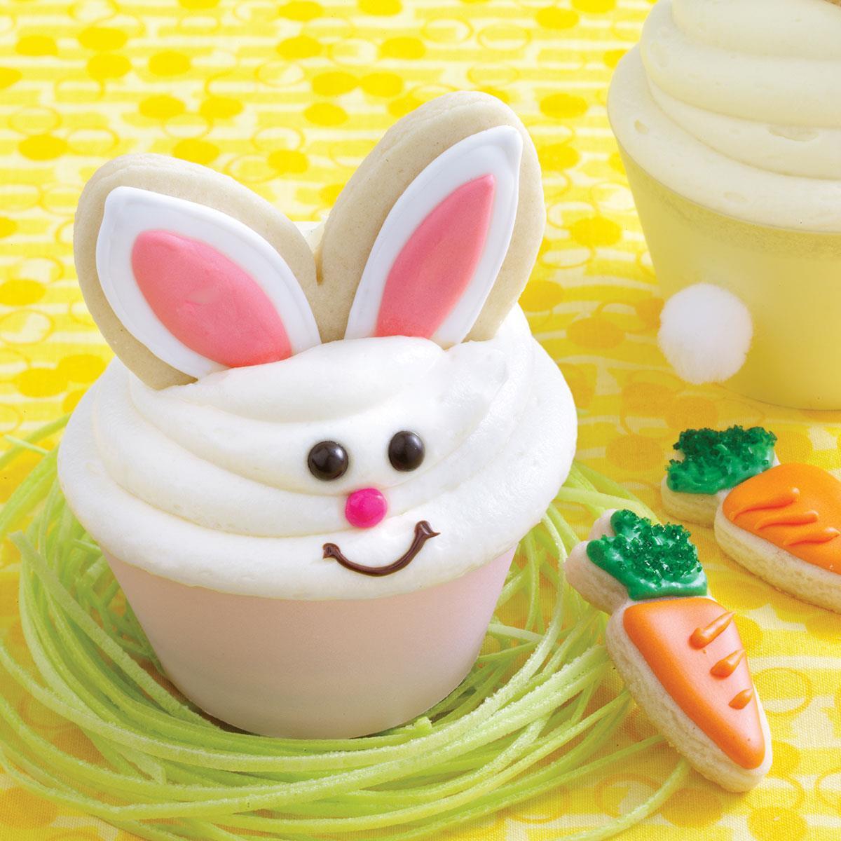 bunny carrot cakes cookies recipe taste of home