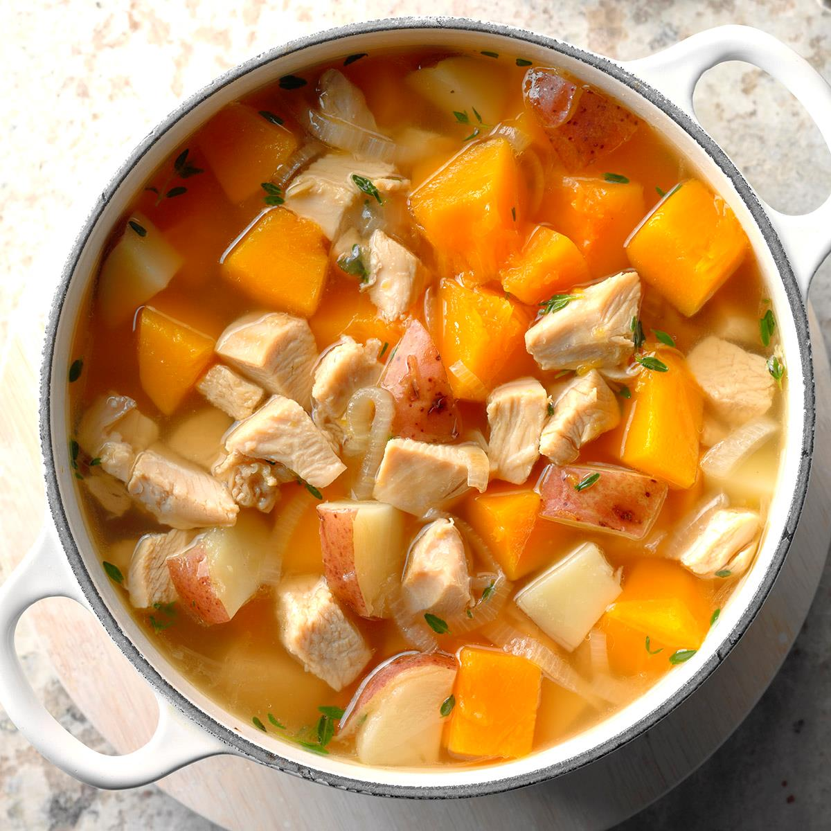 Butternut Turkey Soup