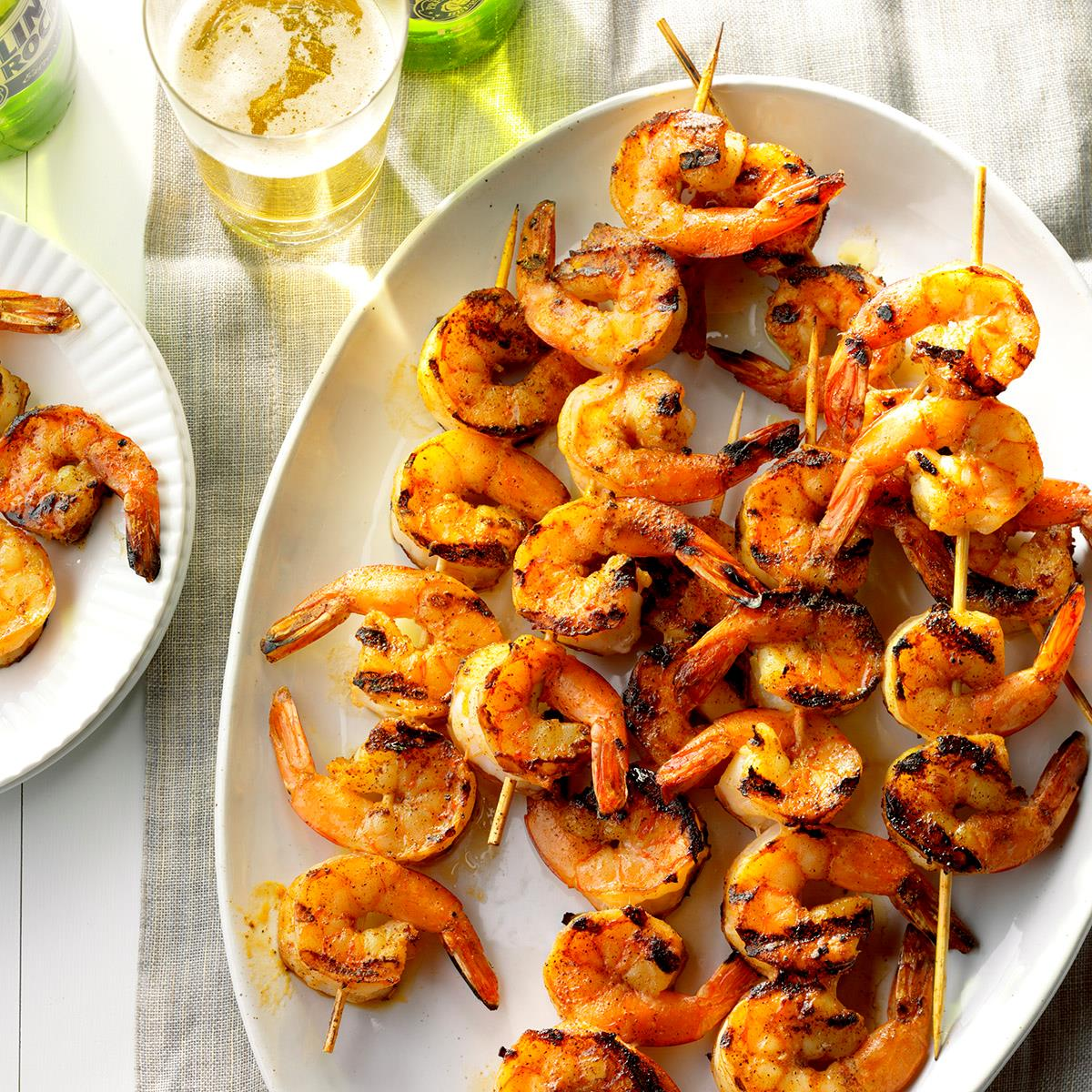 pictures 3 Ways to Grill Shrimp