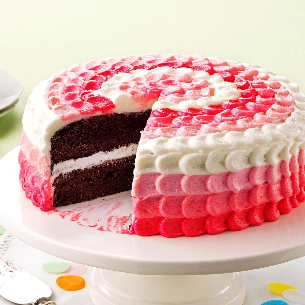Easy Way To Decorate Cake At Home