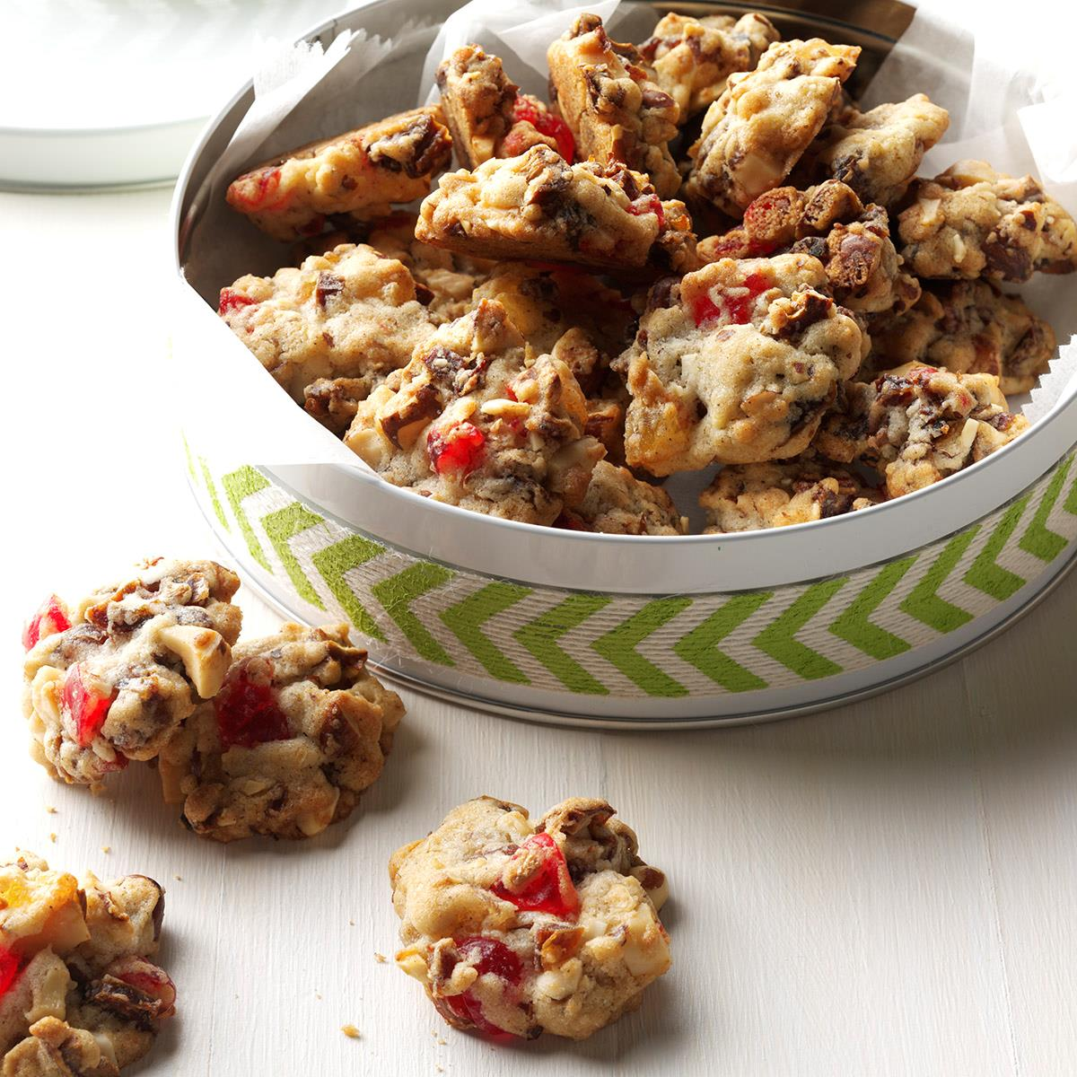 How to Make Holiday Fruit Drop Cookies forecast