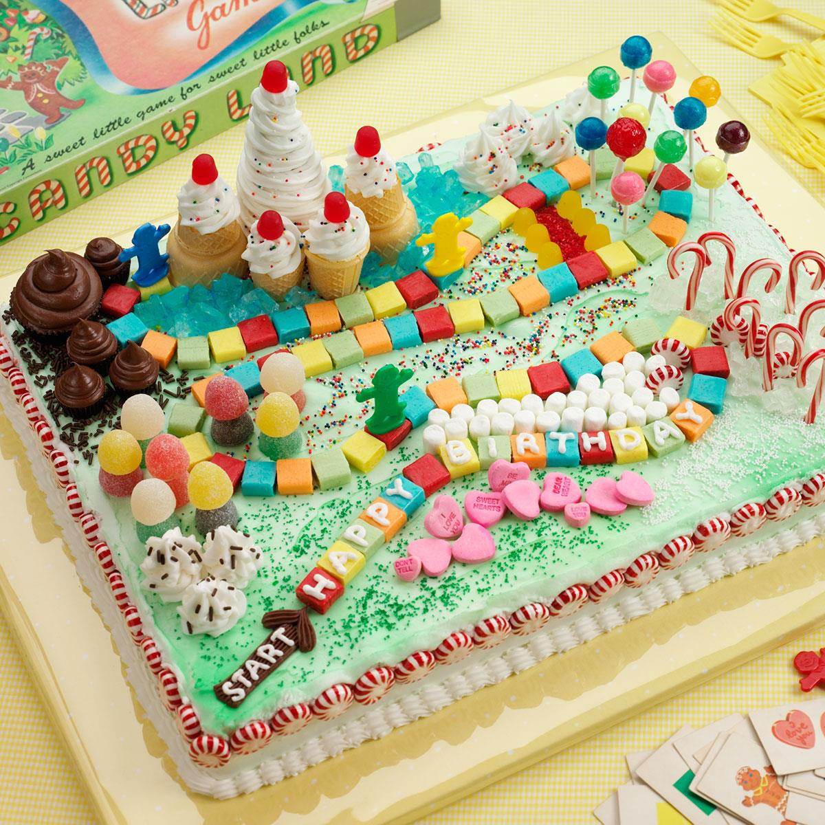 Candy Land Cake Recipe