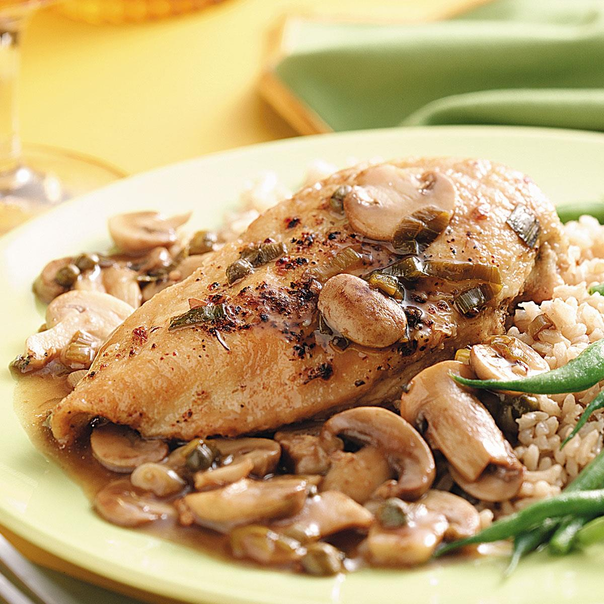 Chicken continental for four taste of home forumfinder Image collections