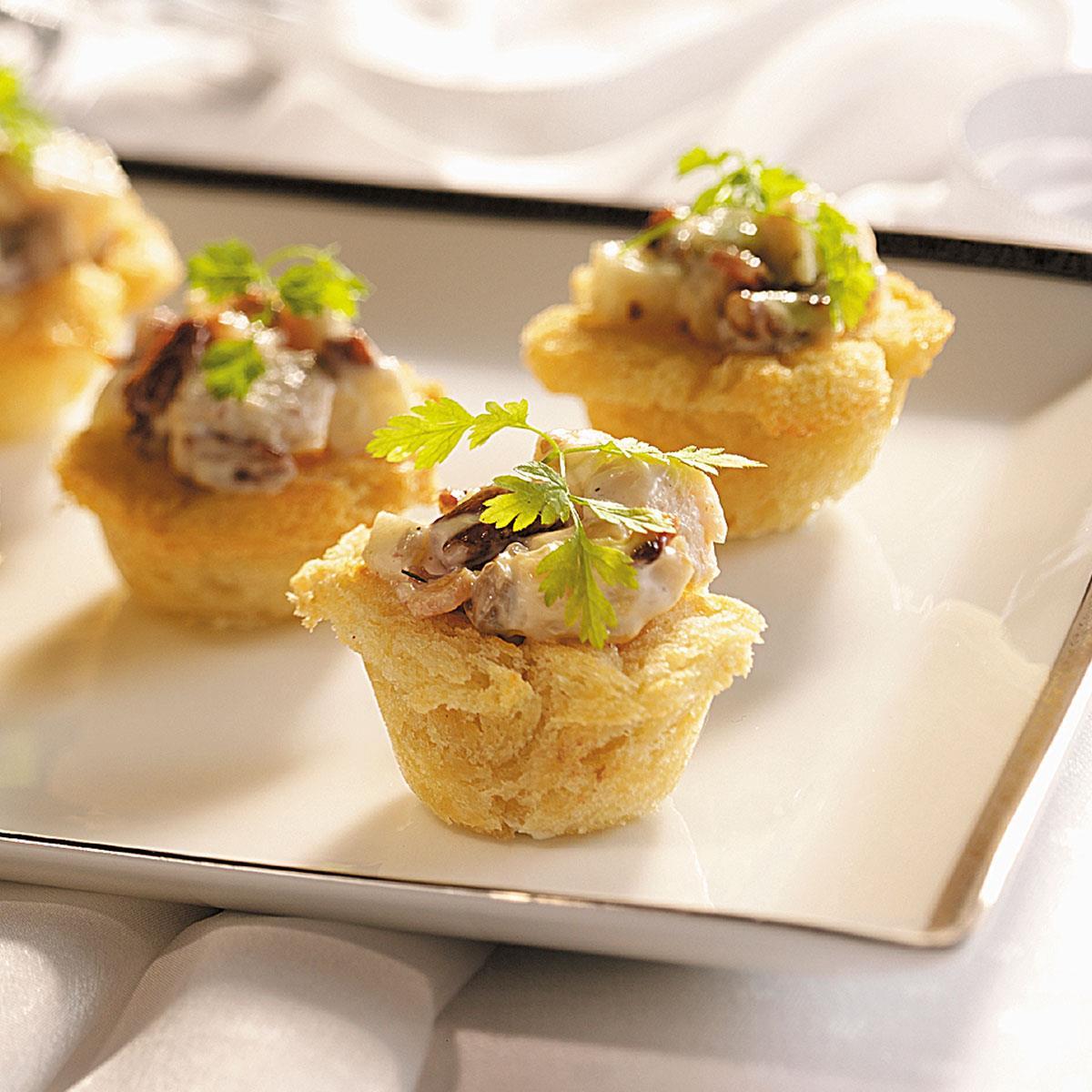 Chicken salad in baskets recipe taste of home forumfinder Choice Image