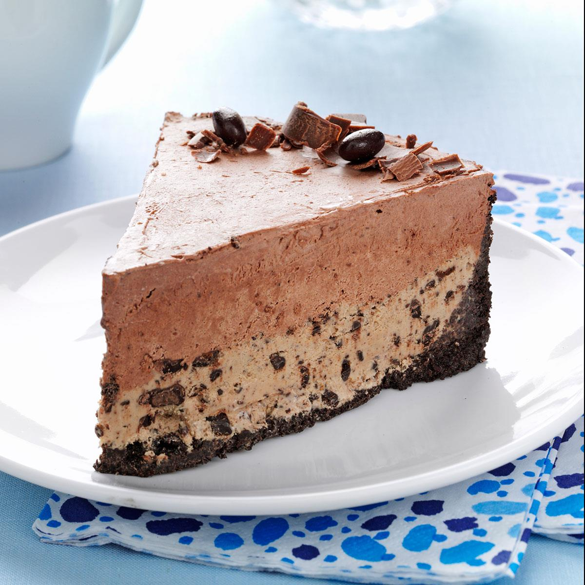 Chocolate Coffee Bean Ice Cream Cake Taste of Home