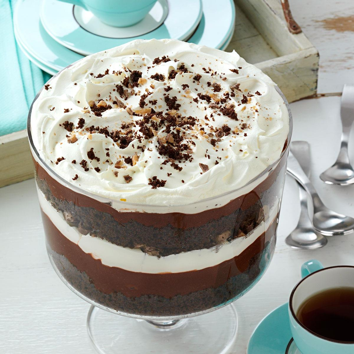 chocolate cake trifle