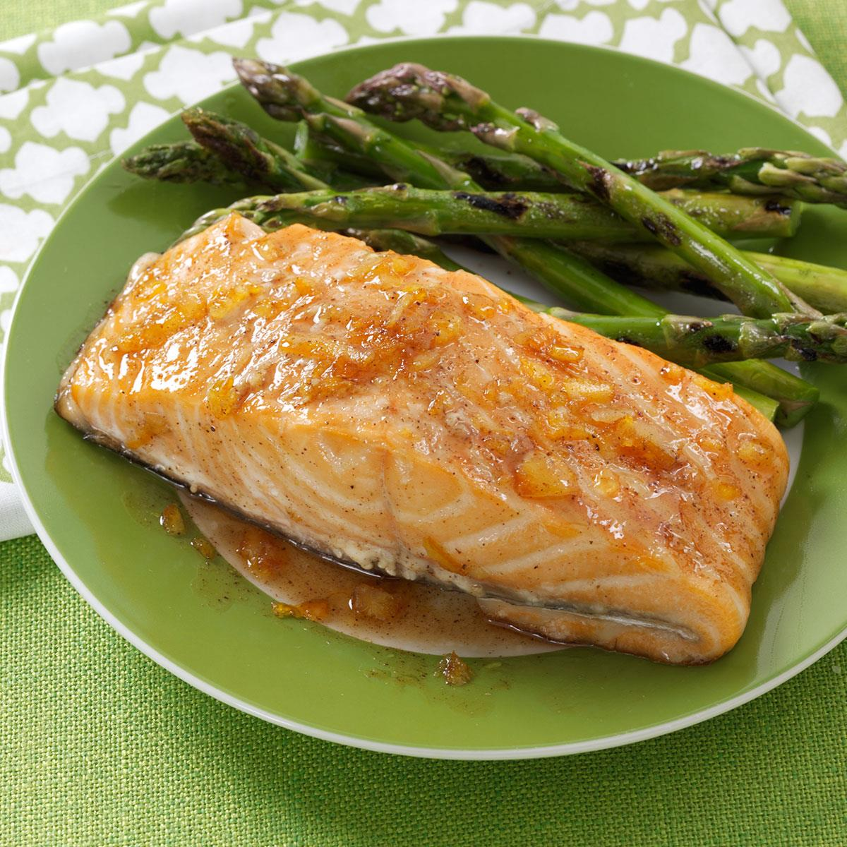 photo Citrus-Glazed Salmon