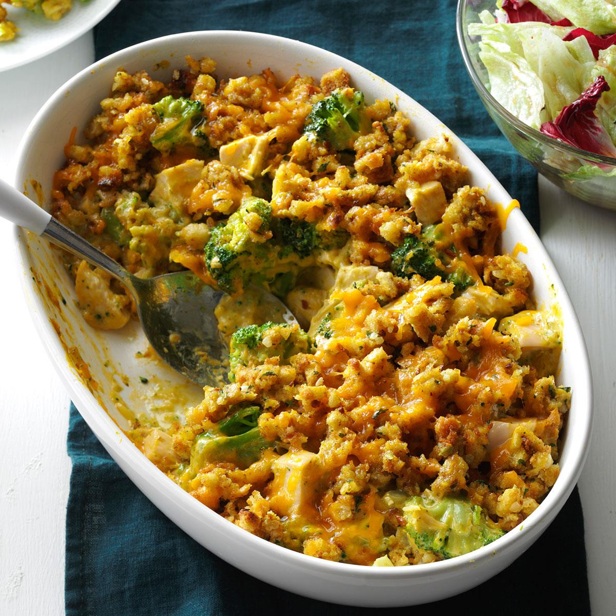 Easy recipe for chicken and broccoli bake