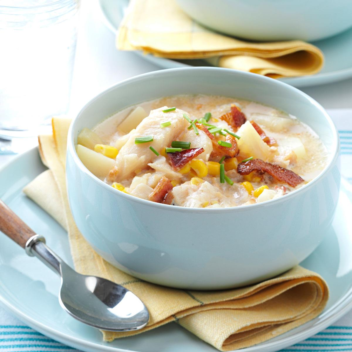 Country Fish Chowder | Taste of Home