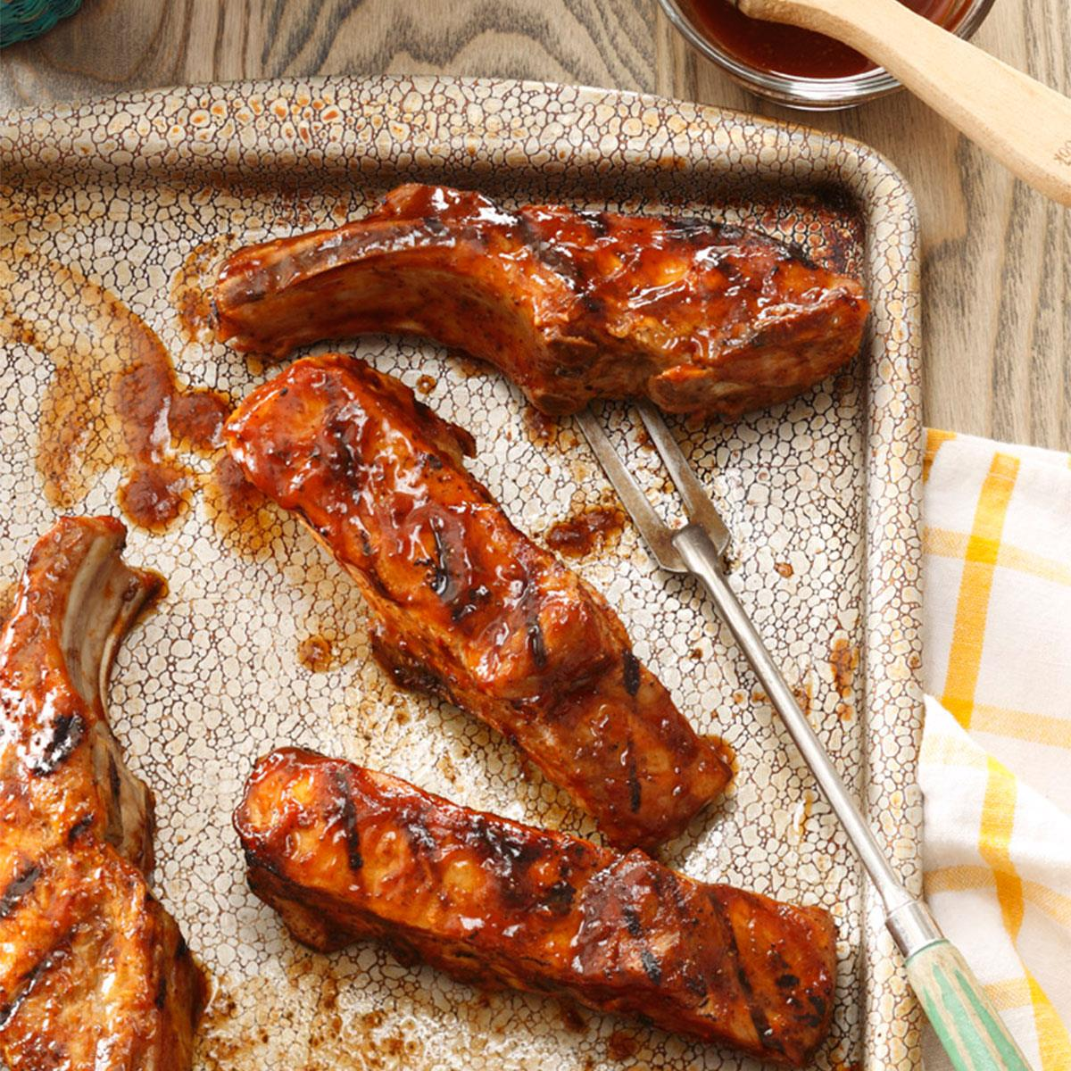Country style pork ribs recipe grill