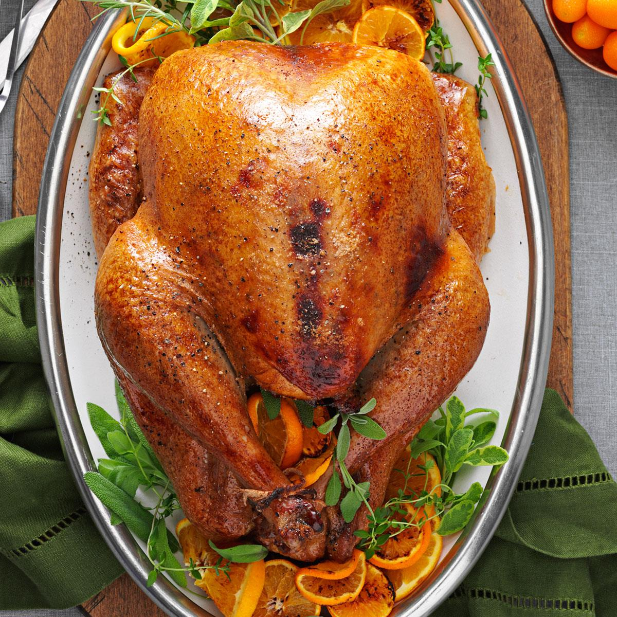 Cranberry Orange Roasted Turkey Recipe Taste Of Home