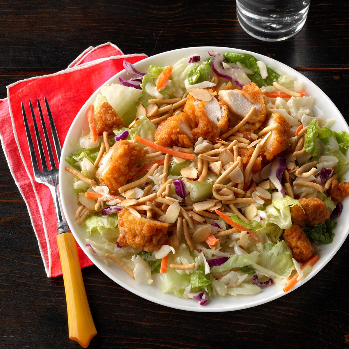 Forum on this topic: Asian Salad with Crispy Chicken, asian-salad-with-crispy-chicken/