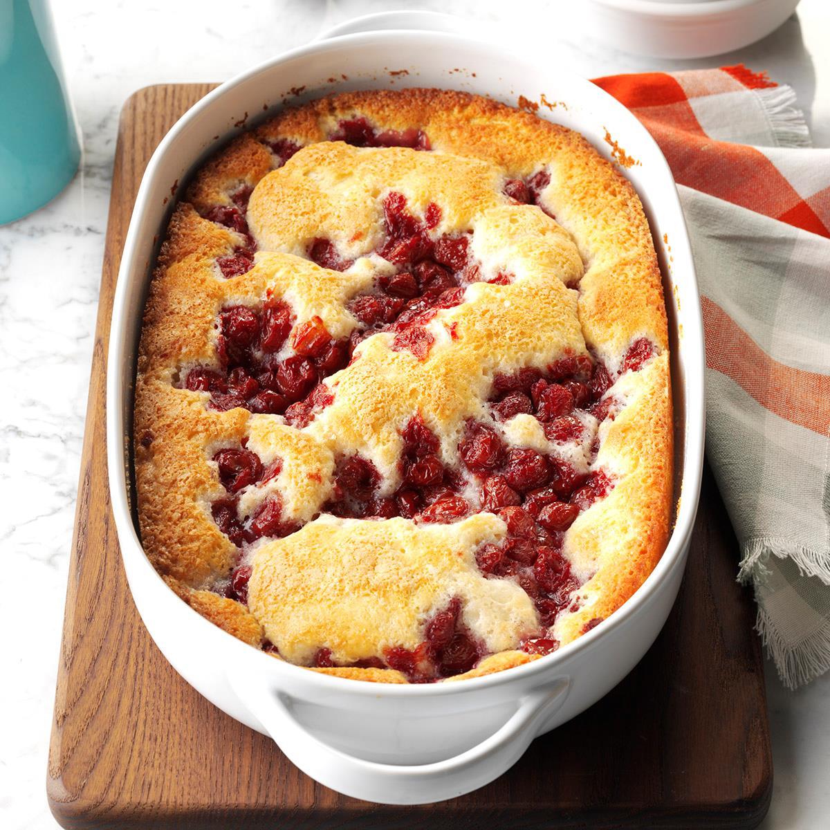 Cherry Pudding Cake Recipe Taste Of Home