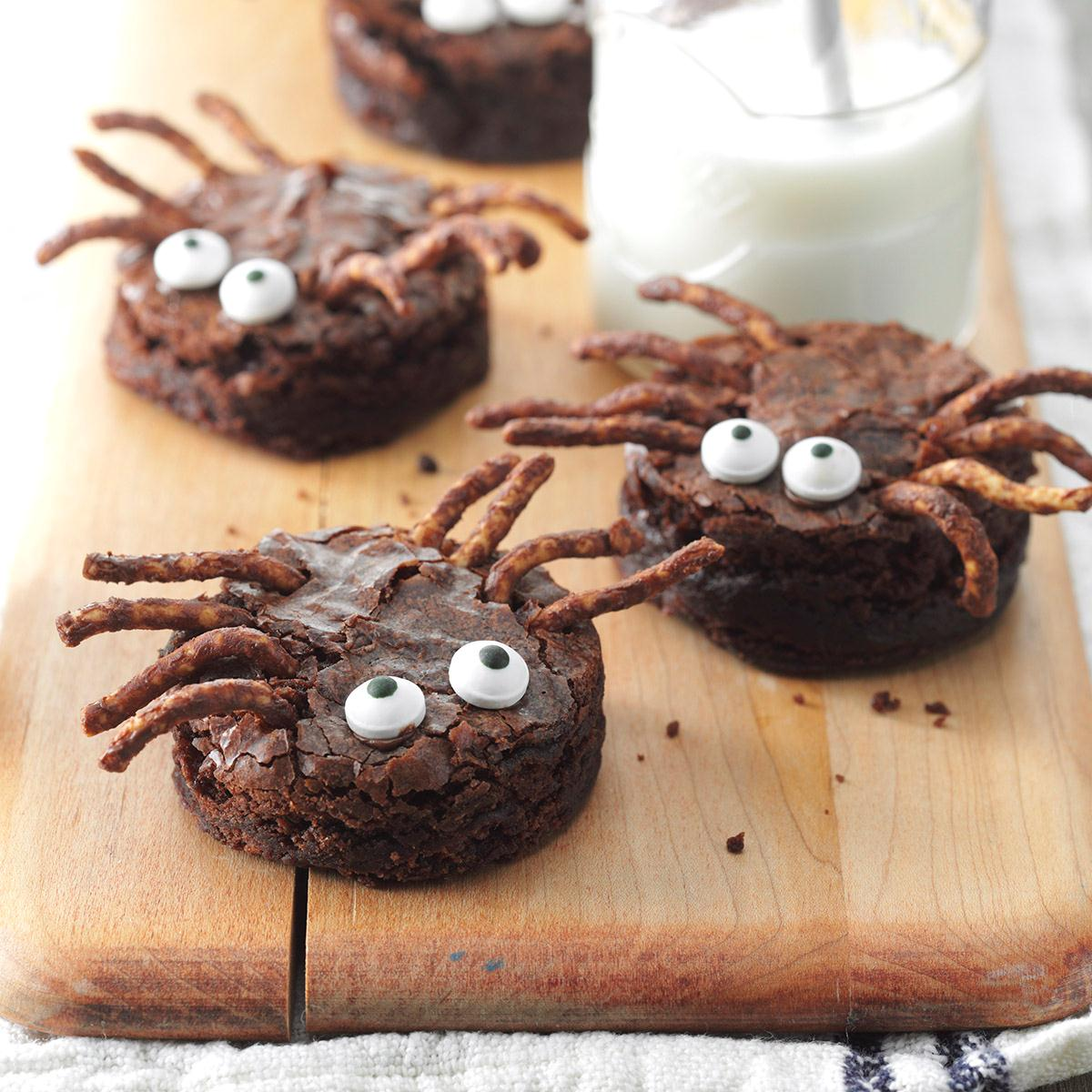brownie spiders recipe taste of home